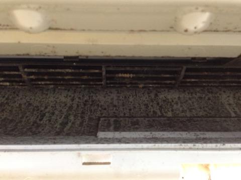 ダイキンのフィルター自動清掃付きエアコンクリーニング F63KTSXV