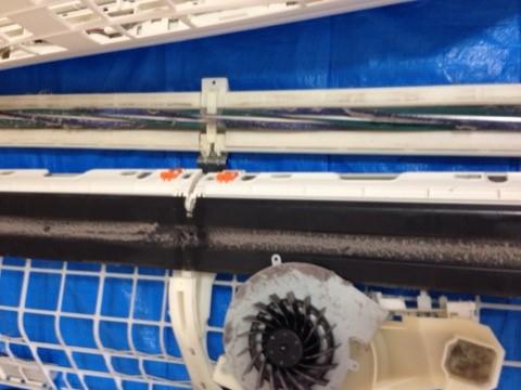 シャープのお掃除機能付きエアコンクリーニング AY-Z40SX