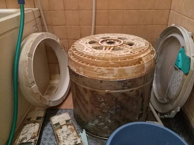 洗濯機クリーニング NA-FS90H6