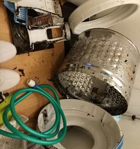 東芝AW-70VL 洗濯機分解クリーニング