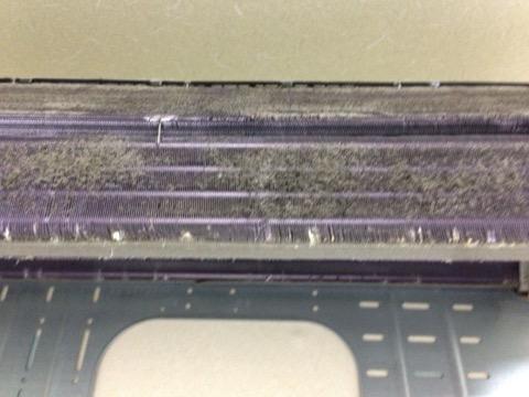 富士通のフィルター自動掃除付きエアコンクリーニング AS-R22V