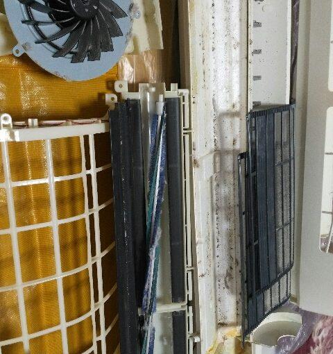 シャープのエアコンクリーニング AC-A50ATC