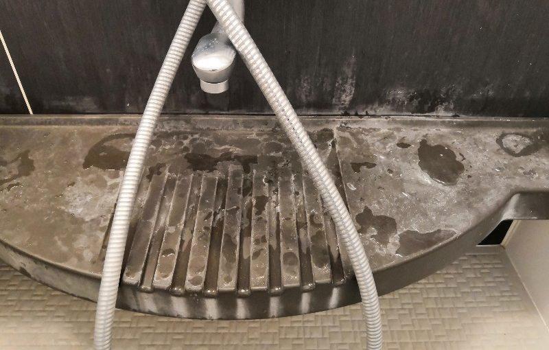 伊丹市で浴室クリーニング
