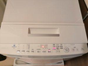 洗濯機クリーニング後