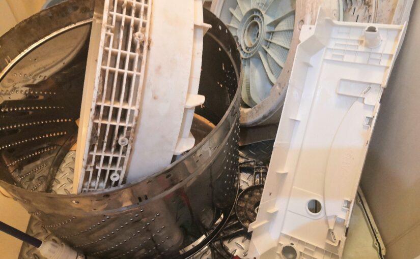 日立ビートウォッシュの洗濯機クリーニング