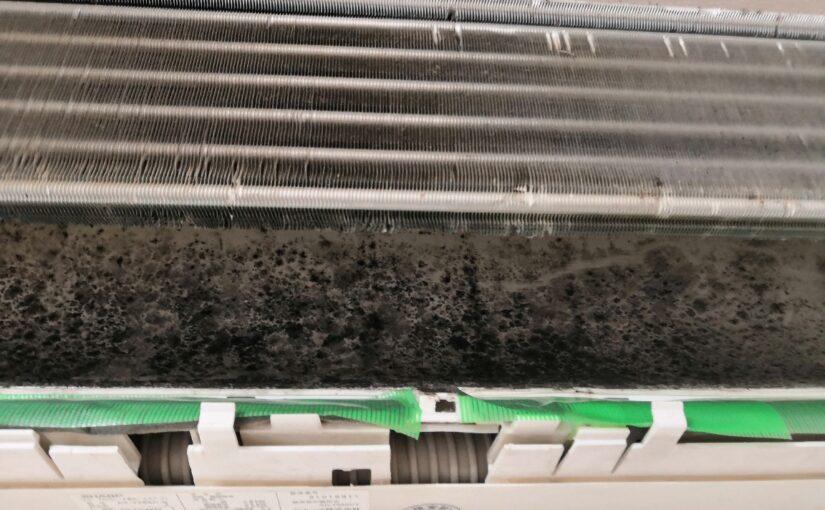 シャープのフィルター自動清掃付きエアコンクリーニング