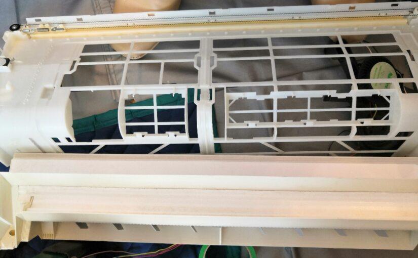 パナソニックのフィルター自動清掃付きエアコンクリーニング CS-EX224C